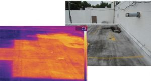 expert witness use of infrared thermography for roofs