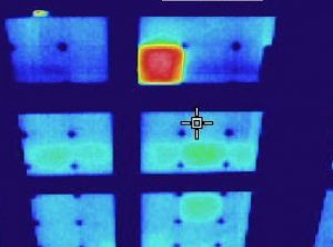 infrared photovoltaic system survey from Jersey Infrared Consultants